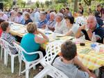 Un momento della Festa degli orti organizzata a luglio dal centro sociale Amici dell'Abbondanza