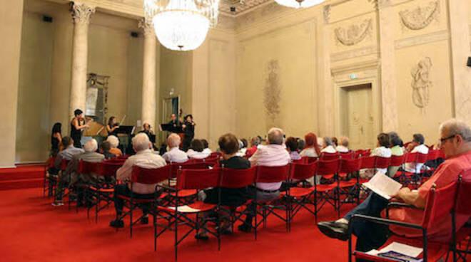 La Sala Corelli del Teatro Alighieri durante un Concerto dell'Accademia