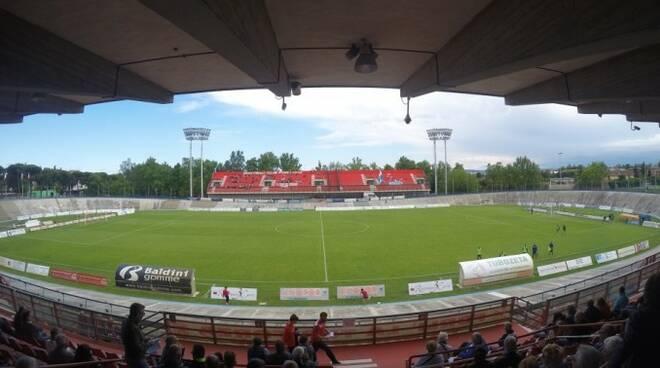 Lo stadio 'Tullio Morgagni' di Forlì