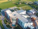 Una veduta dall'alto del Maria Cecilia Hospital