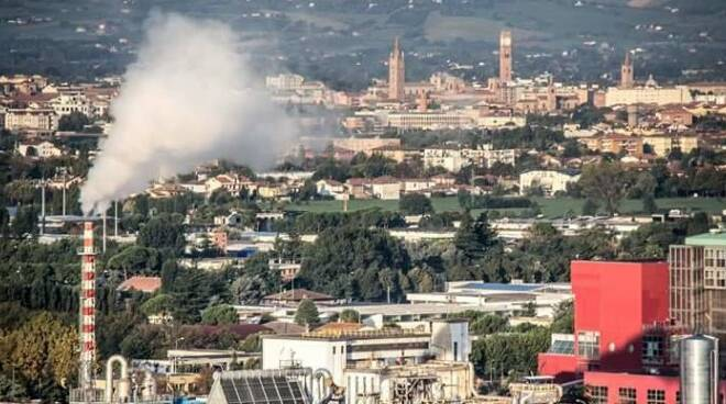 L'inceneritore Mengozzi di rifiuti ospedalieri a Forlì