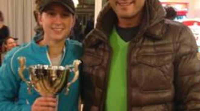 Sara Schiavina e Andrea Ciceroni