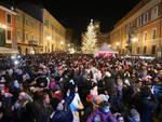 Un momento del Capodanno dell'anno scorso in Piazza del Popolo