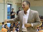 Giorgio Bottaro quando era alla direzione tecnica del Basket Ravenna