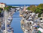 Il porto turistico di Cervia, adesso in mano al Comune