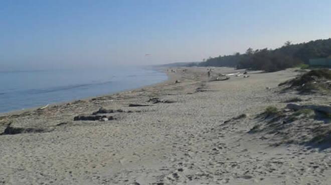 Spiaggia libera sud