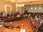 Una seduta del Consiglio Comunale di Cesena