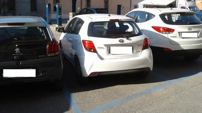 Il parcheggio di piazzale G. Battista Rossi