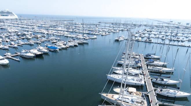 La vista del Porto Turistico