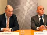 Marco Chimenti e Paolo Maggioli, rispettivamente direttore e presidente di Confindustria Romagna