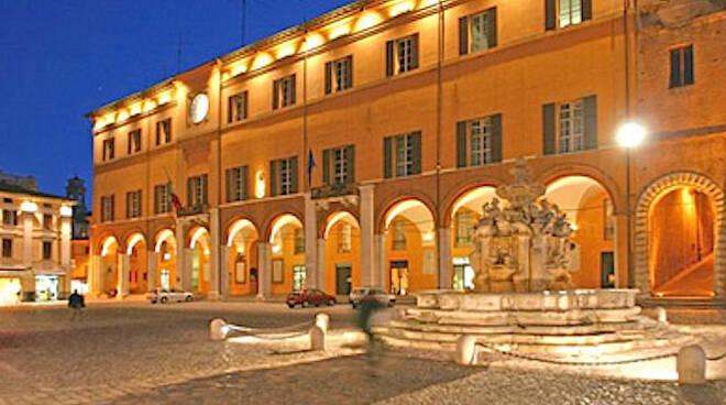 Palazzo Albornoz sede del Municipio di Cesena