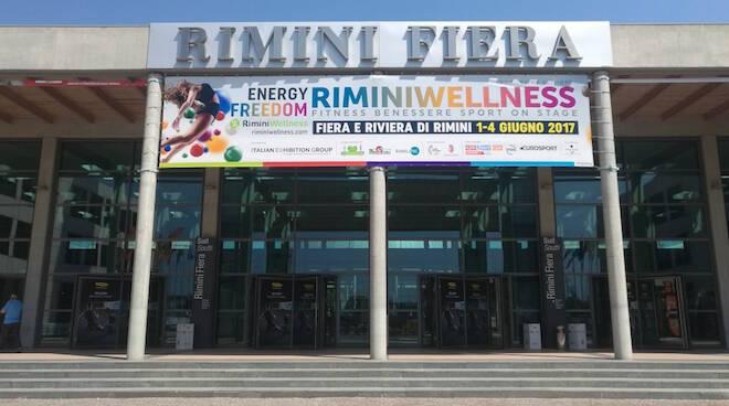 L'ingresso di RiminiWellness