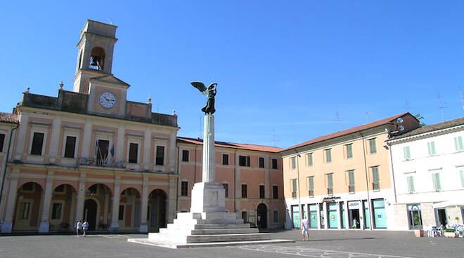 la sede del Comune di Savignano sul Rubiconde - foto di repertorio