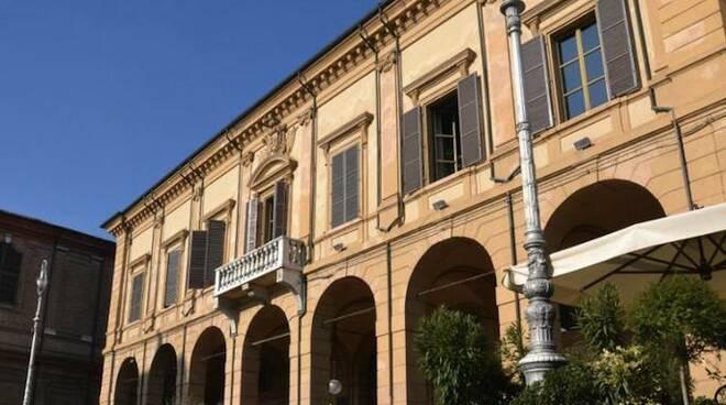 Il municipio di Bagnacavallo