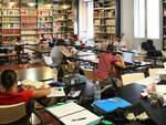 La sala di lettura della biblioteca Trisi di Lugo