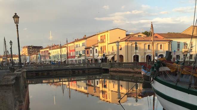 Il porto canale di Cesenatico (foto d'archivio)