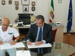La firma dell'accordo è avvenuta nella sede della Capitaneria di Porto