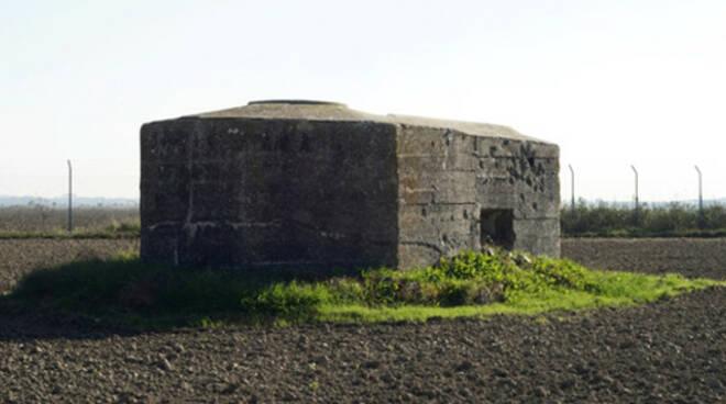 Il bunker della Spreta è uno dei 50 manufatti tedeschi rinvenuti nell'area del comune di Ravenna