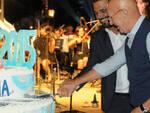 Il compleanno di MiMa nel 2015 con Arrigo Sacchi