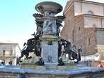 La fontana monumentale di Faenza, uno dei siti per i quali il Comune ha rilasciato l'autorizzazione all'uso delle immagini