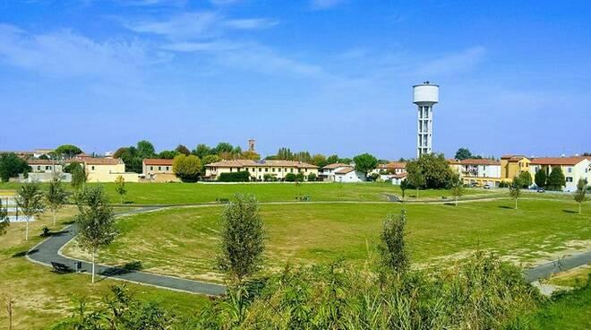 Il grande parco Vatrenus a Sant'Agata sul Santerno