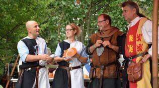 Momenti di vita medievale rivivono nel corso della festa