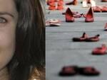 Giulia Ballestri e una manifestazione contro il femminicidio