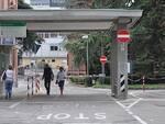 L'ingresso dell'ospedale Umberto I di Lugo
