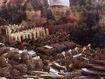 Bambini in adorazione delle creazioni in cioccolato