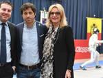 Il consigliere nazionale Fis, Alberto Ancarani, l'ass. Roberto Fagnani e il Fiduciario provinciale, consigliere CRS, Wanda Valgimigli