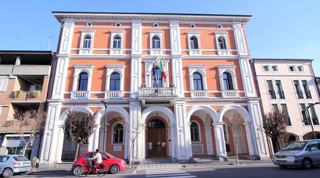 Il municipio di Conselice