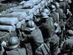 Una trincea di guerra (foto d'archivio)