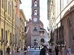 Uno scorcio del centro di Faenza