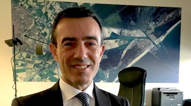Daniele Rossi, presidente dell'Autorità Portuale di Ravenna