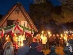 Domenica 31 dicembre si rinnova il rito della fiaccolata al Capanno Garibaldi
