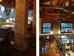 Gli interni del ristorante Cà del Pino