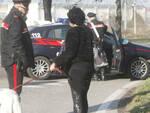 I Carabinieri, questa mattina, nel luogo del ferimento