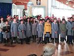 """Il concerto di Natale degli alunni della scuola primaria """"Garibaldi"""" ai nonni di Lugo"""