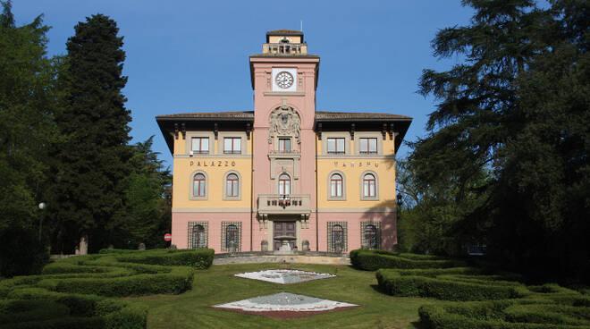 Il Municipio di Predappio (foto archivio Blaco)