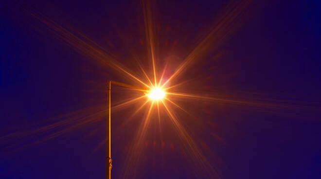 Immagine di repertorio - Illuminazione pubblica