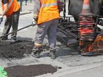 Immagine di repertorio - Lavori di asfaltatura