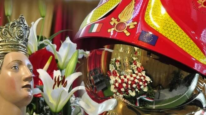 Santa Barbara, patrona dei Vigili del Fuoco, celebrata ieri