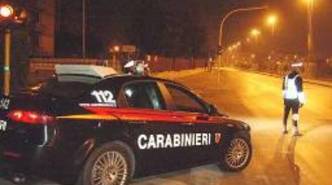 I controlli dei carabinieri di Cattolica