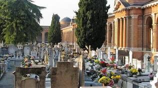Il Cimitero urbano monumentale di Forlì (immagine d'archivio)