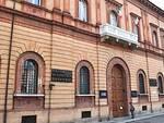 La sede della Cassa di Risparmio a Ravenna