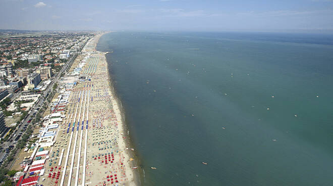 Panoramica della costa emilianoromagnola
