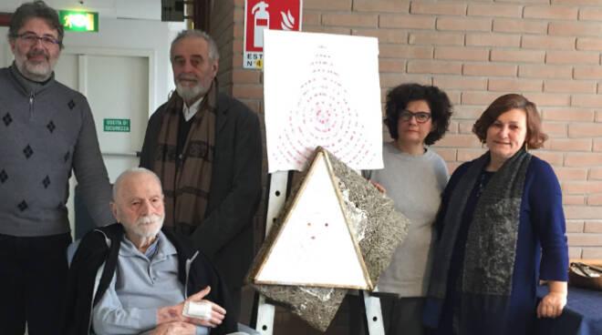 Da sinistra Marco Del Bene, Nedo Del Bene, Giuliano Babini, Daniela Caravita e Elena Pagani
