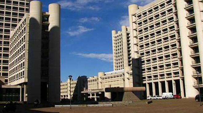 La sede della Regione Emilia Romagna in via Aldo Moro a Bologna