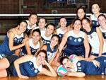 Le ragazze dell'Aics Volley Forlì