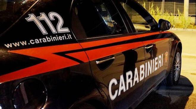 Prosegue il controllo del territorio da parte degli uomini dell'Arma dei Carabinieri (foto d'archivio)